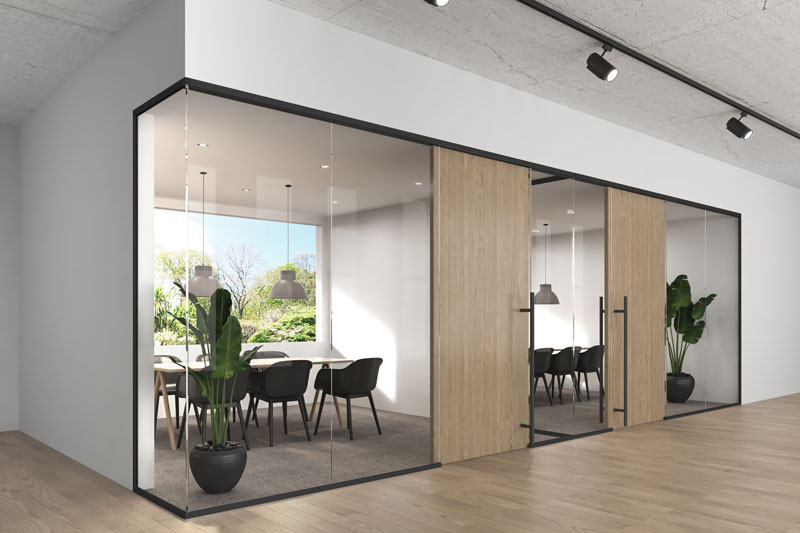 LIGNEA INTERIOR GLASS WALL SYSTEMS