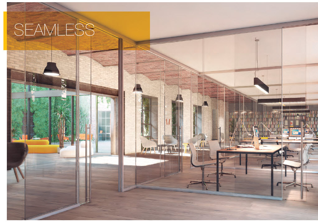 KLEIN'S PANORAMIC FRAMELESS GLASS WALL SYSTEMS (INTEGRATION)