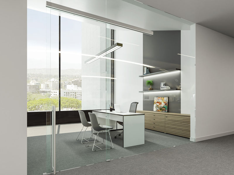 UNIKGLASS+ AIR (SINGLE SLIDER WITH FIXED GLASS) 