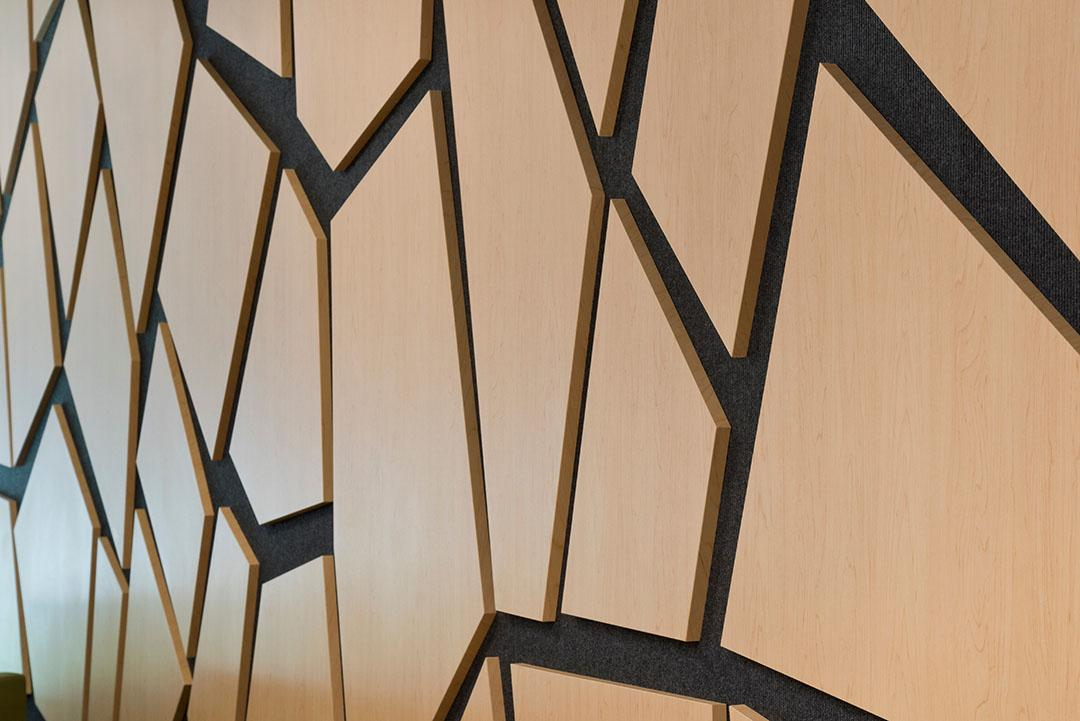DETAILED VIEW of  Custom Wall Panels